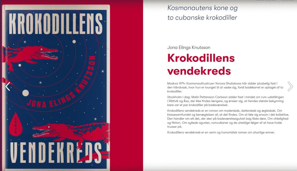 Om boken på danska